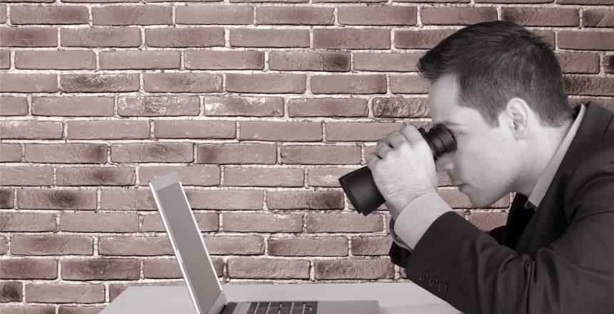 Searching, Binoculars, Computer.